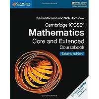 Cambridge IGCSE Mathematics core and extended coursebook. Per le Scuole superiori. Con espansione online