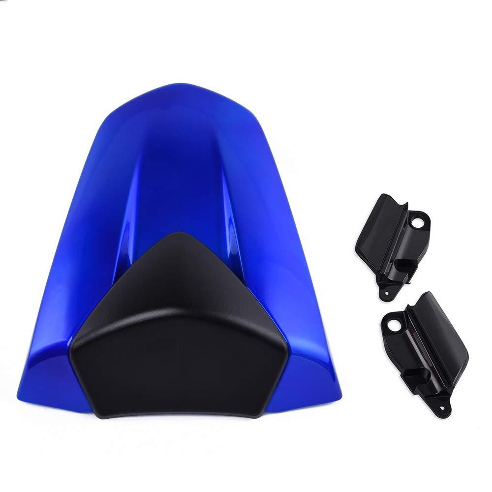 Blue Motorcycle 13 14 CBR500R Passenger Rear Pillion Seat Cowl Fairing Cover ABS Plastic for 2013-2015 Honda CBR 500 R CBR 500R 2014