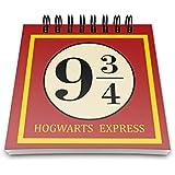 Bloco de Anotações Plataforma 9 - Harry Potter
