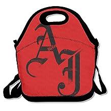 NaDeShop AJ Styles Logo Wrestling Lunch Bag Tote