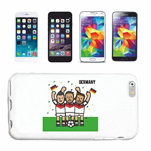 """cas de téléphone iPhone 6S """"FANS DE FOOTBALL FOOTBALL Allemagne 2018 Coupe du Monde ALLEMAGNE CHAMPION DU MONDE RUSSIE RUSSIE demi-finale QUARTS DE FINALE"""" Hard Case Cover Téléphone Covers Smart Cover"""
