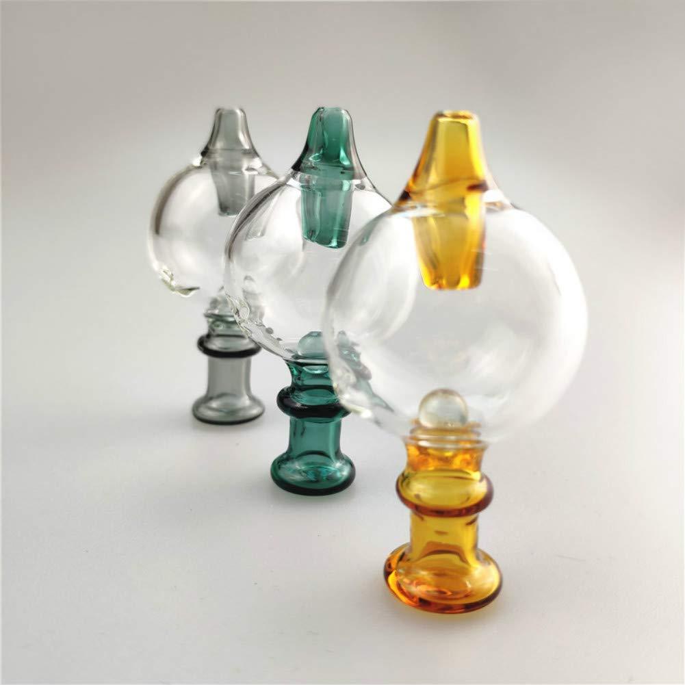 Aduben Glass Accessory Cute Cap Carb Cover 26mm,Ball Inside Gray