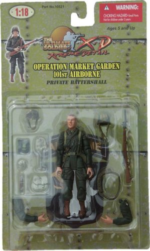 Ultimate Soldier Battle of the Bulge Private Battershall 21st Century Toys Ultimate Soldier