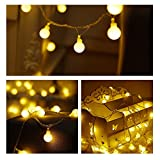 ZOUTOG Battery Operated String Lights, 33ft/10m 100