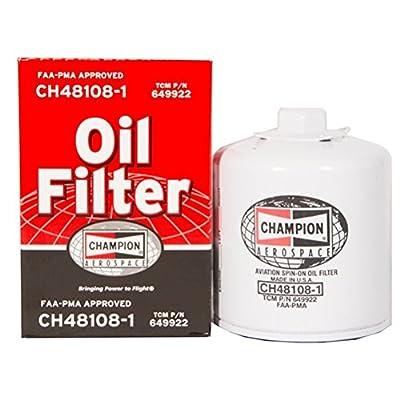 Champion CH48108-1 Aircraft Oil Filter