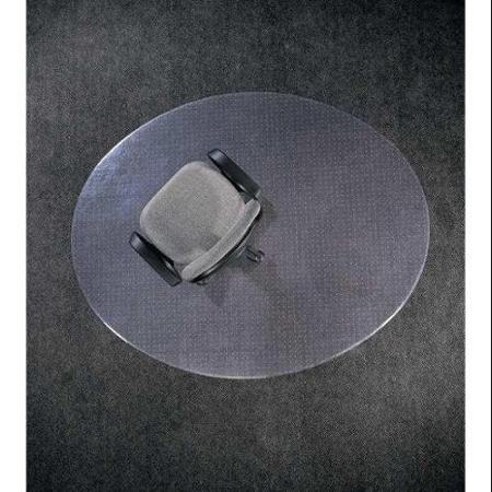 ALECO 130433 Oval Chair Mat,Hard Surface,48 x 60 In.