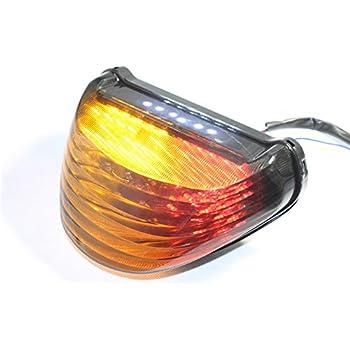 Amazon.com: HK MOTO- Tail Brake Light Turn Signals for 2000 ...