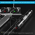 Tattico-Torcia-Professionale-Con-LED-OSRAM-P9-1200-Lumens-Torcia-LED-Impermeabile-5-Modalit-di-illuminazione-Con-Ricaricabili-18650-Batterie