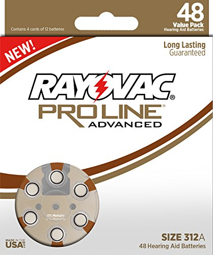 Rayovac Proline Advanced Mercury Free Batteries