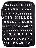 PUNCHCASE Ace - Funda de cremallera con nombres de héroes clásicos, color negro (sirve para Kindle Paperwhite, Kindle y Kindle Touch)