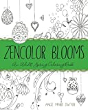 img - for ZenColor Blooms: An Adult Spring Coloring Book book / textbook / text book