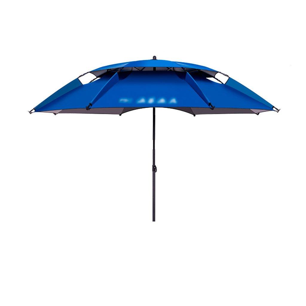 LSS 屋外アンブレラ|釣り傘|傘|カラー| 2.2mアウトドアフィッシング傘|ユニバーサル|レインコート|折り畳み釣り傘| 2.4メートルの釣り傘|日陰の傘 (色 : B, サイズ さいず : 240cm)   B07DB75XX6