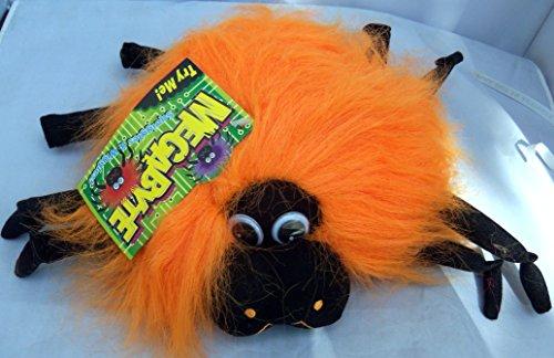 Halloween Megabyte Sound Activated Orange Spider Wiggles Plush 9