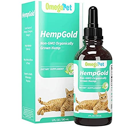 Amazon.com : Fur Goodness Sake Hemp Oil for Cats - Organic Remedy for Cat Anxiety Relief, Cat Calming Product Plus Pain Relief - Third Party Tested : Pet ...