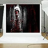 TAOtTAO Halloween Backdrops Pumpkin Vinyl 5x3FT Lantern Background Photography Studio (A)