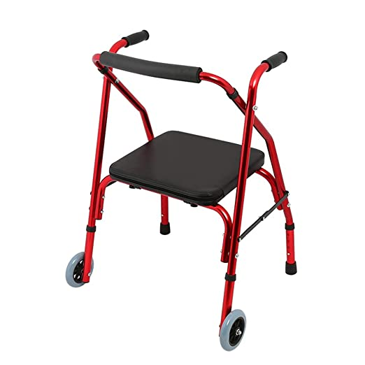 STBD-Andador Ancianos discapacitados, Plegable Multiuso Andador ...