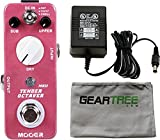 Mooer Tender Octaver MKII Precise Micro Octave Pedal w/Power Supply, Cloth