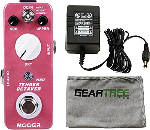Mooer Tender Octaver MKII Precise Micro Octave Pedal w/Power Supply, Cloth by MOOER