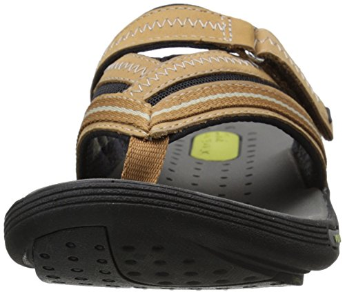 Smokey Flip Women's Brown Clarks Nubuck Wave Flop Coast SaOnOXWg