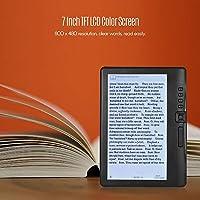 LJJY Ereader de 7 Pulgadas con Pantalla Digital de Libros ...