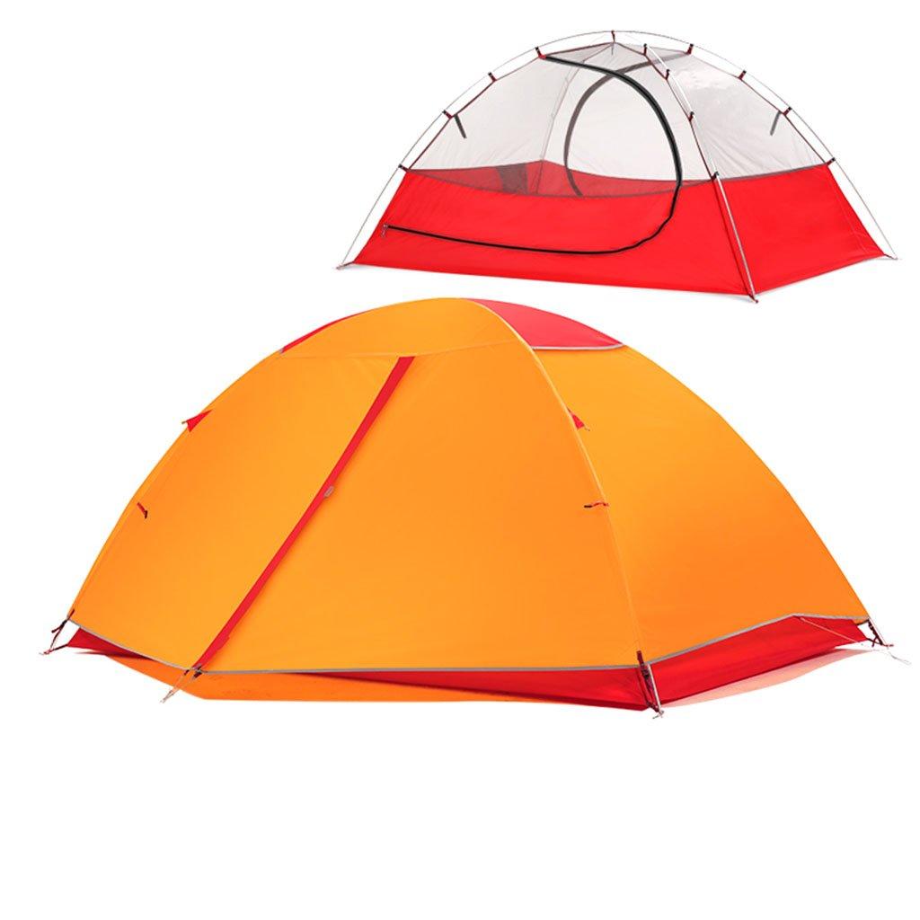 Zelt, Zelt im Freien Sturm Prävention Ultralight Hand Ride Aluminium Rod Individuelle 2 Personen Camping