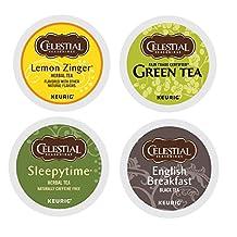 Celestial Seasonings Tea K-cup Pack Sampler, 22 Count