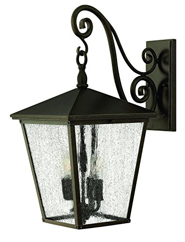 - Hinkley 1435RB-LED Traditional One Light Wall Mount from Trellis collection in Bronze/Darkfinish,