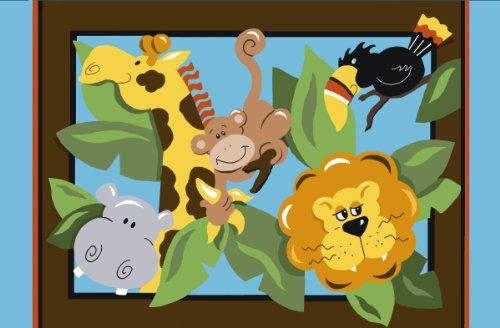 (Fun Rug JR-TSC-203 3958 Jade Reynolds in The Jungle)