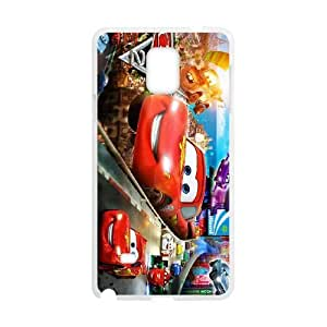 Samsung Galaxy Note 4 White phone case Disney characters Cars DNS6090653