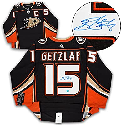 9c6a10345 Ryan Getzlaf Anaheim Ducks Autographed Adidas Authentic Hockey Jersey