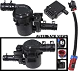 APDTY 022100 Fuel Tank Vapor Emission Canister Vent Solenoid Filter Kit Mounts Under Vehicle Near Gas Tank Fits 2007-2015 Chevrolet Silverado or GMC Sierra Pickup w/ Gas Engine (Replaces 15114374)
