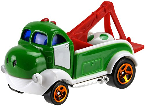 Mario Bros Yoshi - Hot Wheels Hot Wheels Mario Bros. Yoshi Car Vehicle