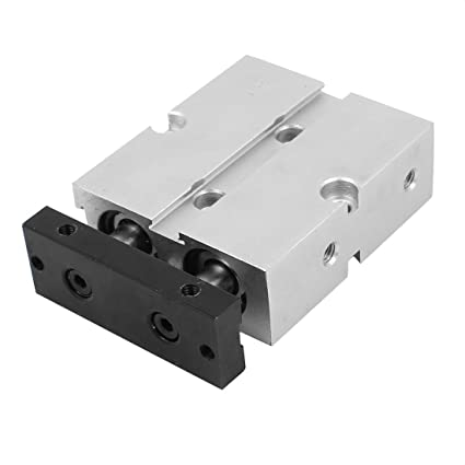 TN16X10  Dual Action 16mm Bore 10mm Stroke Double Rod Pneumatic Air Cylinder