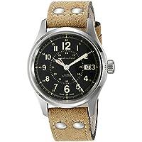 Hamilton Men's H70595593 Khaki Field Analog Display Swiss Automatic Brown Watch