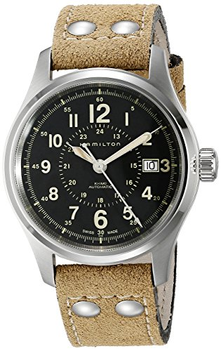Field Hamilton Watch (Hamilton Men's H70595593 Khaki Field Analog Display Swiss Automatic Brown Watch)