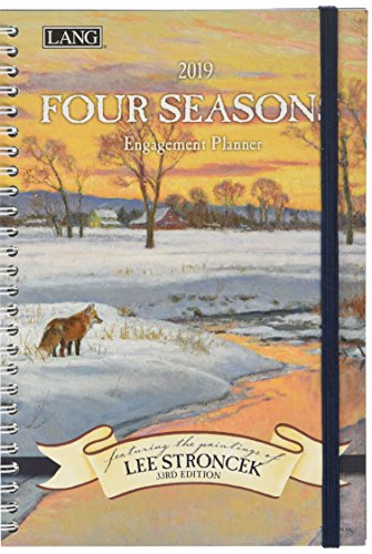 The LANG Companies Four Seasons 2019 Engagement Planner - Spiral (19991011084)