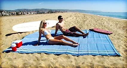 Amazon.com: Esterilla de playa (Tamaño Grande 9