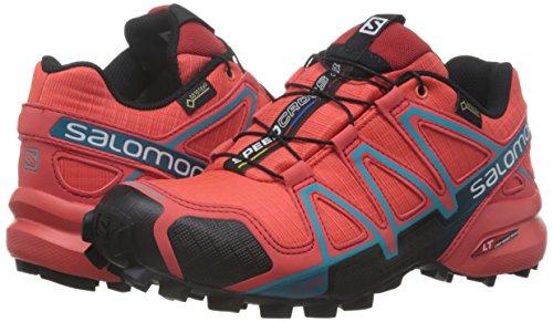 Chaussures Gtx De argent Femme 4 Speedcross Bleu Salomon bleu Trail AqUxEIttw