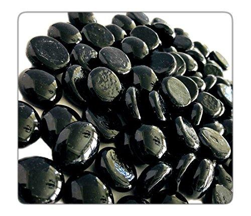 black glass gems - 8