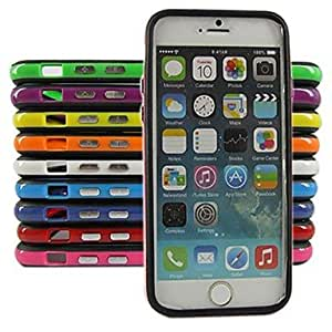 LIMME Silicone Bumper Frame Case for iPhone 6 (Assorted Color) , Blue