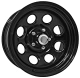 Pro Comp Steel Wheels Series 98 Wheel with Gloss Black Finish (16x10''/8x6.5'')