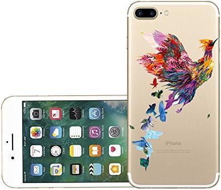Plástico Floral Cereza Flores de dibujos animados duro funda para iPhone se 6s 7 8 Plus