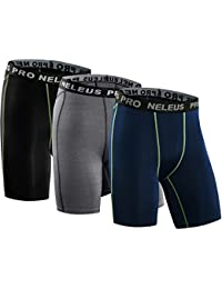 Men's 3 Pack Compression Short
