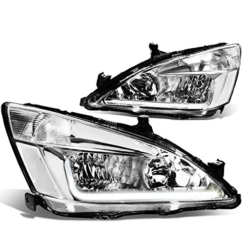 DNA Motoring HL-LB-HA03-CH-CL1 Chrome clear automotive-headlight-assemblies