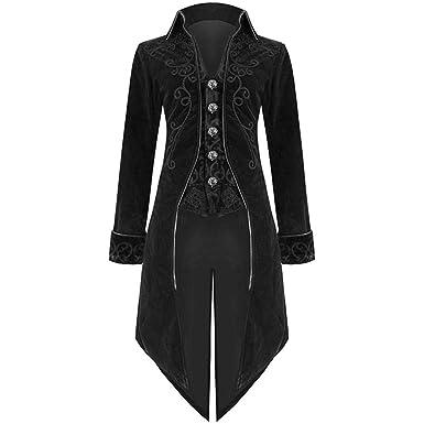 conception adroite nouveau style grande remise de 2019 MORCHAN Mode Hommes Veste FRAC Goth Steampunk Uniforme ...