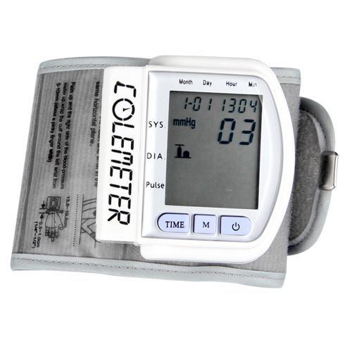 COLEMETER® Tensiómetro Pulsómetro De Muñeca Presión Sanguínea Metro: Amazon.es: Salud y cuidado personal