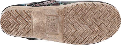 Original Print Multi Clogs Sanita Patches Women's Edition Leather Limited qwx67xZ