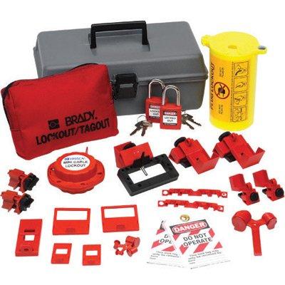 Brady(R) Electrical Lockout Toobox Kit With Brady(R) Safety Padlocks And Tags by Brady USA