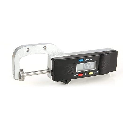 0-25mm Medidor de Espesor Horizontal Digital 0.01mm Joyería ...