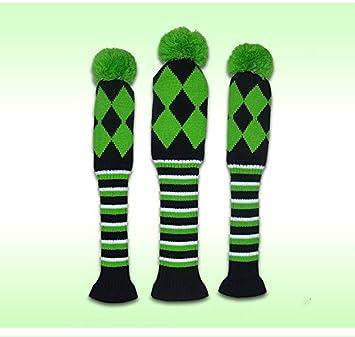 PLAYEAGLE - Juego de 3 fundas para palos de golf (460 cc ...